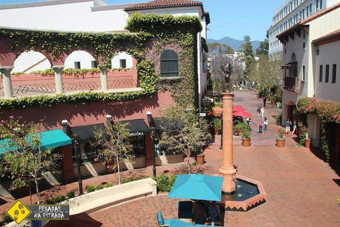 Passeo Nuevo, Santa Bárbara, Califórnia. Foto: CFR / Blog Pegadas na Estrada