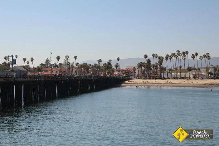 Píer Stearns Wharf, Santa Bárbara, Califórnia. Foto: CFR / Blog Pegadas na Estrada