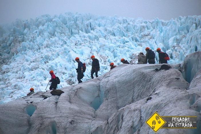 Ice trekking no Vatnajökull National Park.