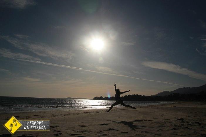 Praia de Carpinteira, Califórnia. Foto: CFR / Blog Pegadas na Estrada