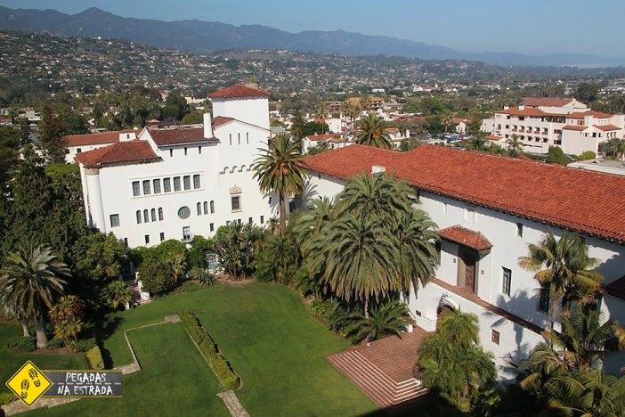 Santa Barbara Courthouse. Foto: CFR / Blog Pegadas na Estrada