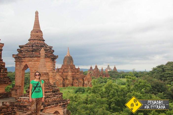 Templos de Bagan em Myanmar. Foto: CFR / Blog Pegadas na Estrada