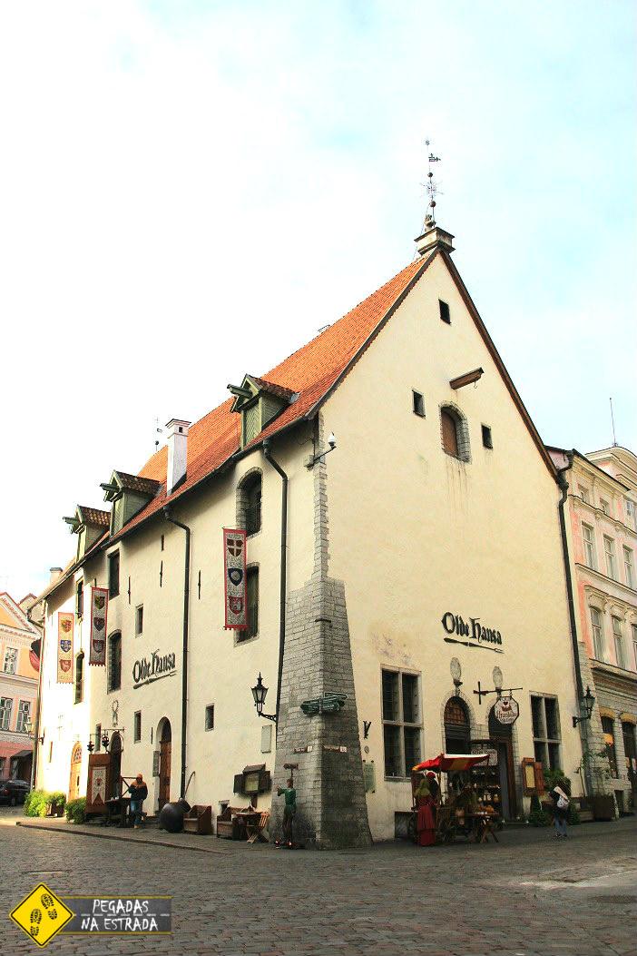 Olde Hansa, Tallinn. Foto: CFR / Blog Pegadas na Estrada