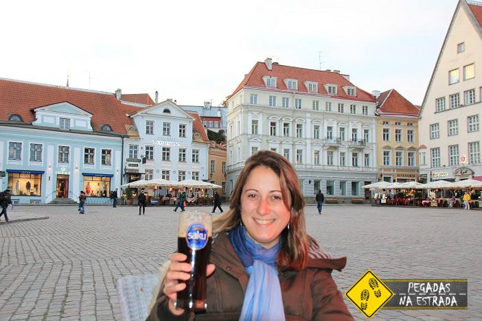 Estonia old town centro historico