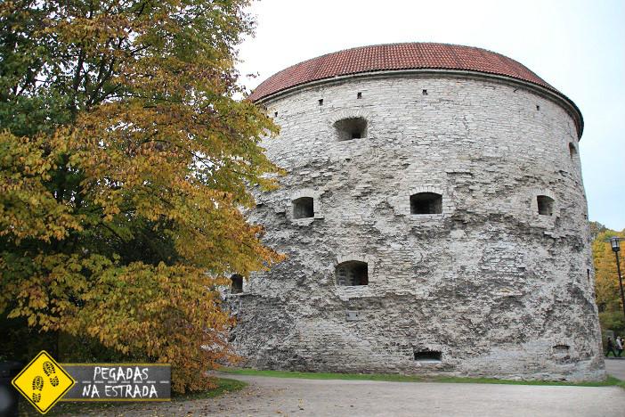 Torre de Margarita la Gorda, Tallinn. Foto: CFR / Blog Pegadas na Estrada